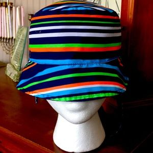Toddlers Striped Sun Hat